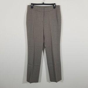 Akris Punto Crop Wool Blend Trouser Textured A5